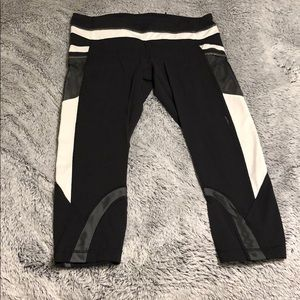 Cropped Lululemon REFLECTIVE leggings